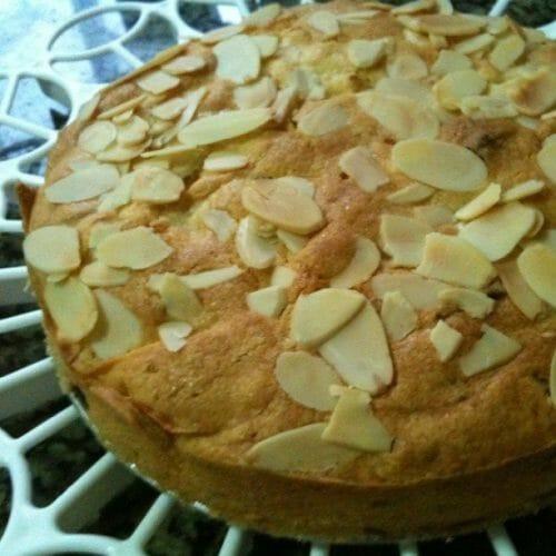 Apple Apricot Cake