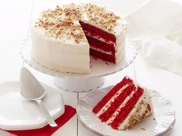 Red velvet cake - Red Velvet Cake