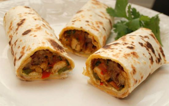 chicken kathi roll - Chicken Kathi Roll