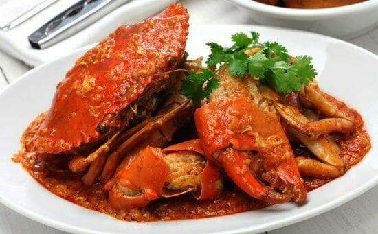 singapore chilli crab - Singapore Chilli Crab