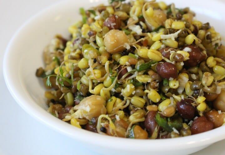 mixed sprouts sundal - Variety Payaru (Mixed Sprouts) Sundal