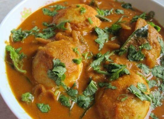 egg kurma - முட்டை குரூமா