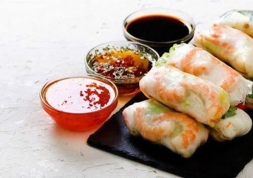 Chicken And Mango Rice Paper Rolls Recipe How To Make Chicken And Mango Rice Paper Rolls Awesome Cuisine