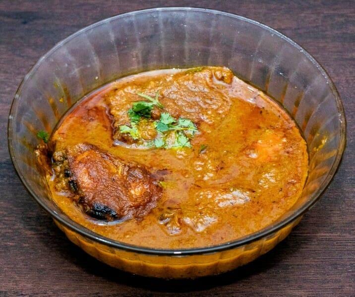 andhra fish curry - Andhra Chepala Pulusu (Andhra Fish Curry)