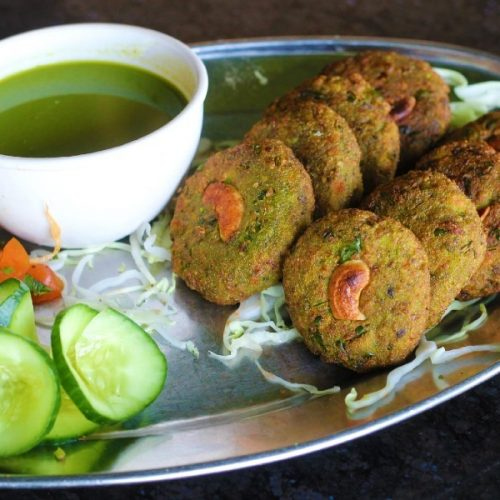 Hara Bhara Kebab (Hara Bhara Kabab)