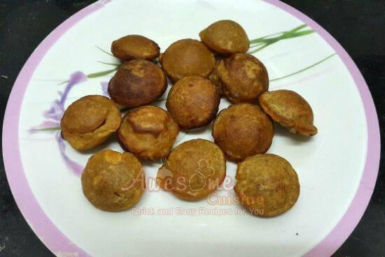 Unniappam Neyyappam - Top 20 Popular Recipes for Onam Sadhya