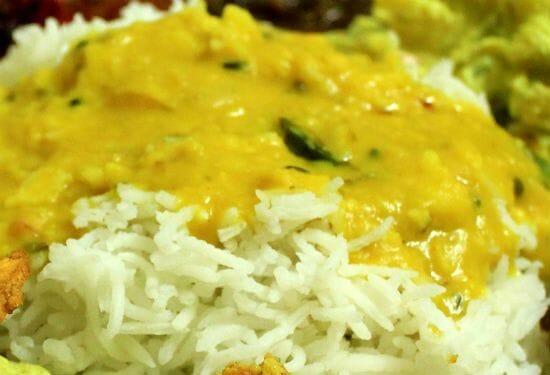 parippu curry - Top 20 Popular Recipes for Onam Sadhya