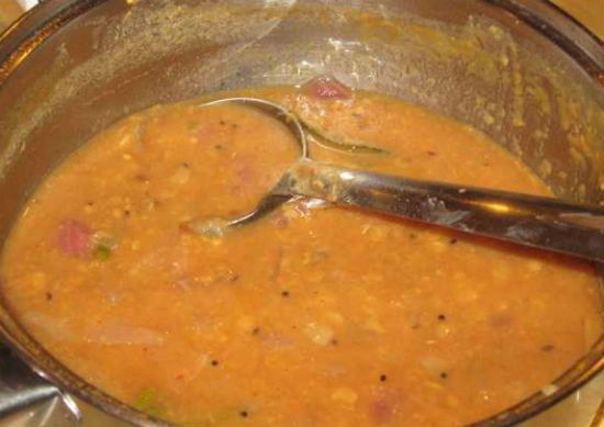sambar - Top 20 Popular Recipes for Onam Sadhya