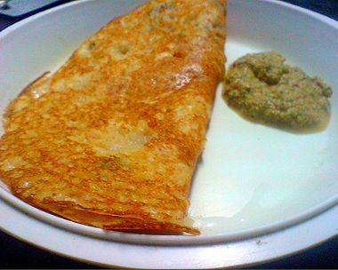 Adai with Chutney1 380x304 - Bread Bajji