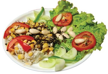Almond and Corn Salad