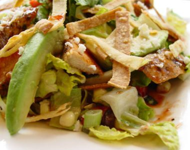 BBQ Chicken Salad 380x301 - Navratri Special Recipes