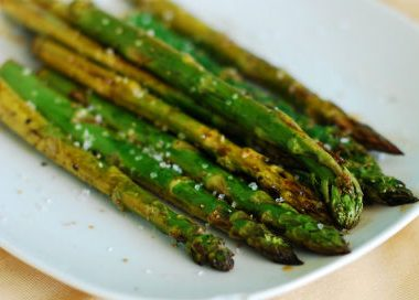 Balsamic Roasted Asparagus 380x272 - Grilled Zucchini with Lemon and Garlic