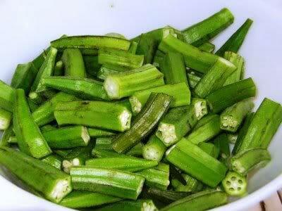 Bhindi4 - வெண்டைக்காய் உப்பு மிளகு