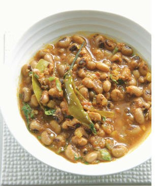 Black Eyed Pea Curry - Marwari Kadhi