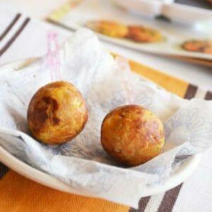 Cabbage Paneer Balls