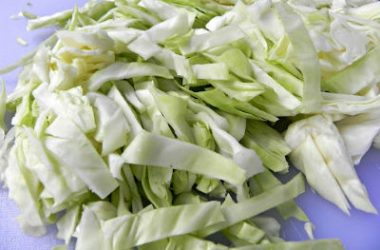 Cabbage Shredded 380x250 - Goan Steamed Cabbage