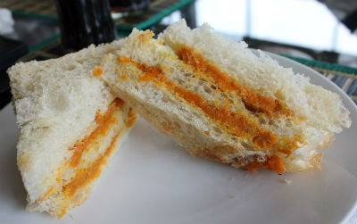 Carrot and Ginger Sandwich