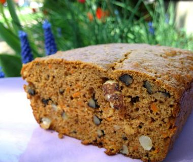 Carrot Walnut Bread 380x319 - Chocolate Ginger Cake