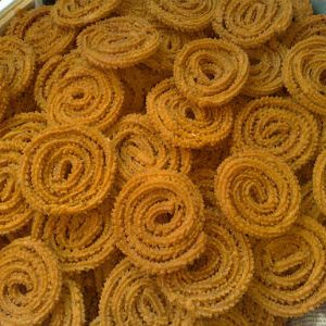 Fried Gram Chakli