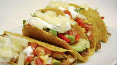 Grilled Chicken Breast Taco