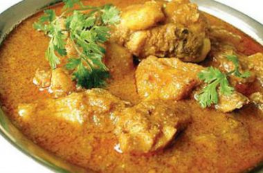 Chicken Curry with Coconut Milk 380x250 - Chicken Curry with Coconut Milk