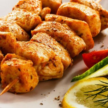 Chicken Kabab 380x380 - Foods That Help You Burn Fat