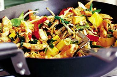 Chicken Mango Stir Fry 380x250 - Chicken Mango Stir-Fry