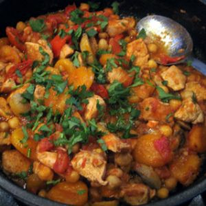 Chicken and Apricot Stew