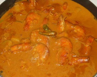 Chingri Macher Malai Curry 380x300 - Panch Phoran
