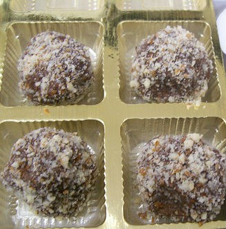 Chocolate Sandesh - Chocolate Balls