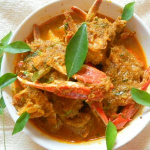 Crab Curry with Coconut