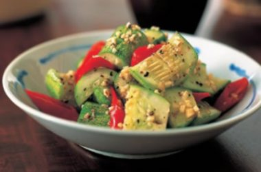 Cucumber Salad Sesame Dressing 380x250 - Cucumber Salad with Sesame Dressing