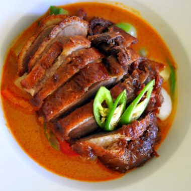 DuckCurry 380x380 - Spicy Duck Curry
