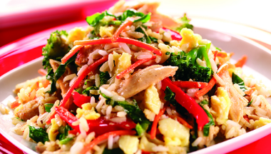 Egg Fried Rice Vegetables 380x216 - Rangoli Sundal
