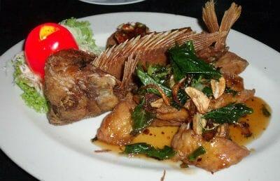 Fried Fish in Gravy