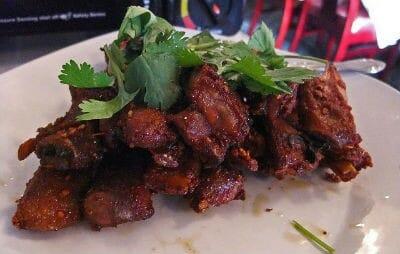 Kabargah (Fried Lamb Ribs)