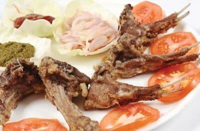Fried Mutton Chops