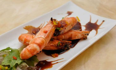 Fried Tiger Prawns - Fried Tiger Prawns