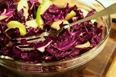 Green Apple and Cabbage Salad