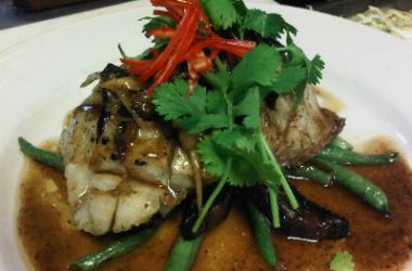 Grilled Fish with Ginger Sauce 380x250 - Grilled Fish with Ginger Sauce