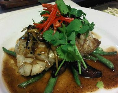 Grilled Fish with Ginger Sauce 380x300 - Grilled Fish with Ginger Sauce