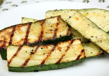 Grilled Zucchini 380x266 - Balsamic Roasted Asparagus