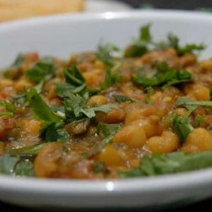 Lamb with Chickpeas (Mangsho Ghugni)