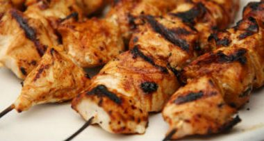 Murg Banno Kebab 380x203 - Grilled Fish with Ginger Sauce