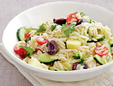 Pasta Rice Salad 380x289 - Moroccan Chicken and Rice