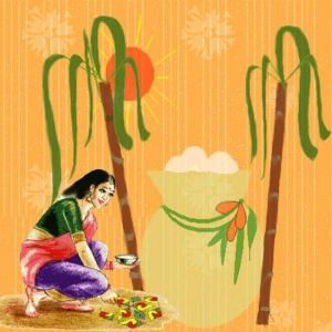 Pongal and Kids!!