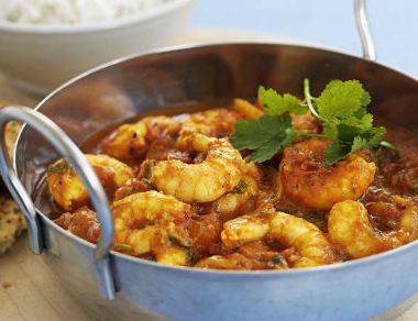 Prawn Curry1 380x292 - Prawn Curry with Coconut