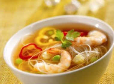 Prawn Soup 380x279 - Prawn Soup with Potatoes