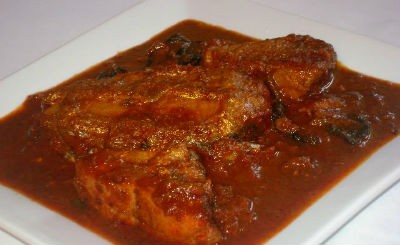 Meen Vevichathu (Red Fish Curry)