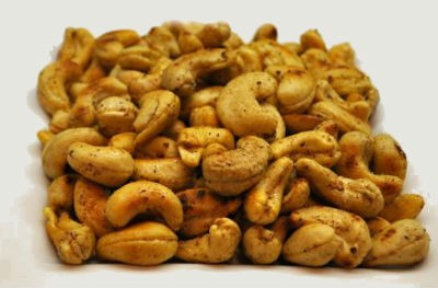 Roasted Masala Cashews - Masala Cashews